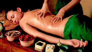 Relaxačná bali masáž chrbta